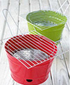 Portable Bucket Charcoal Barbecue