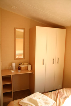 Wardrobe in the main bedroom