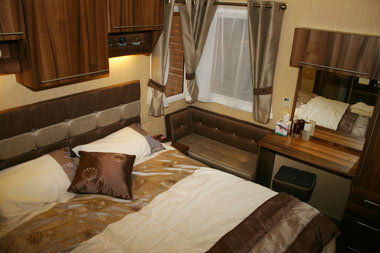 Willerby Winchester Double Bedroom