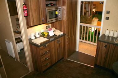 Willerby Winchester Kitchen and Entrance