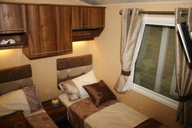 Willerby Winchester Twin Bed