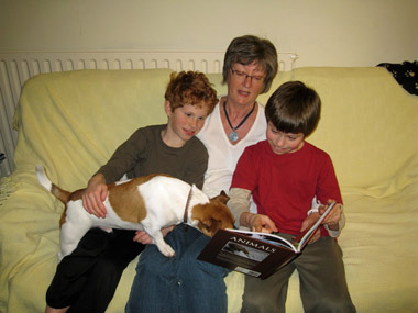 All the family can join in reading