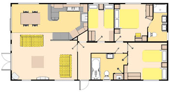 Victory Versailles Lodge Floorplan