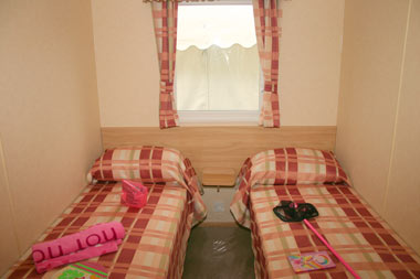 twin bedroom in the ABI
