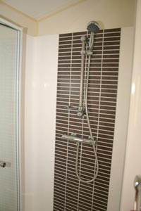 willerby feature shower