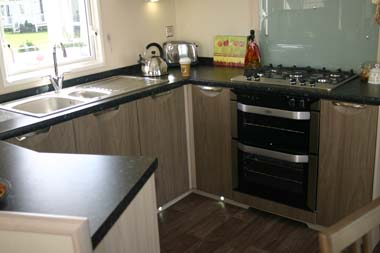 Carnaby Aspire Static Caravan Kitchen