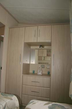Carnaby Aspire Static Caravan Second Bedroom Wardrobe