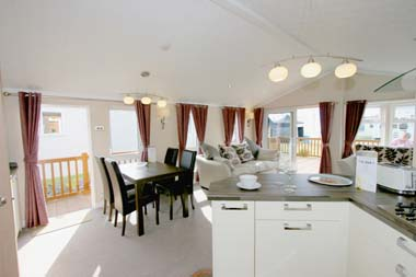 Willerby Key West Holiday Lodge Open Plan Dining