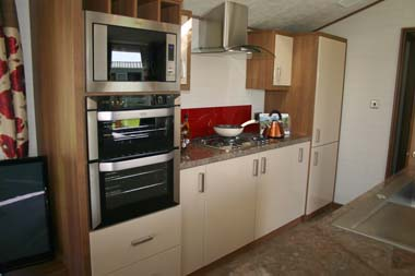 ABI The Lodge 2-bed kitchen