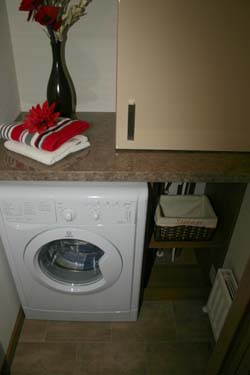 ABI The Lodge 2-bed utility room