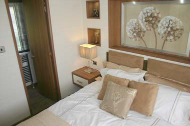 ABI The Lodge 2-bed main bedroom