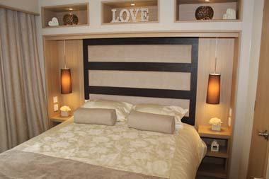 ABI Roxbury holiday home - The master bedroom