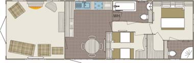 Carnaby Willow Floorplan