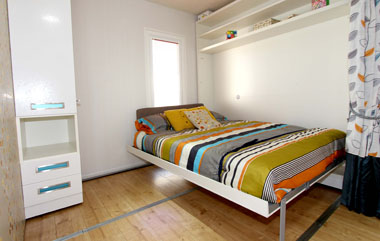 ABI Concept - A second double bed drops down