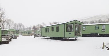 Protect your holiday caravan in winter