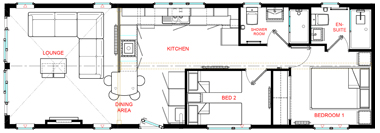 Wessex Contemporary Vue - Floorplan