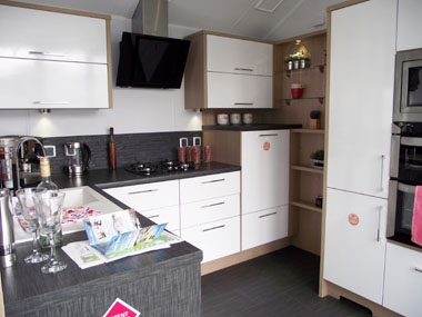 Willerby Linear - Kitchen