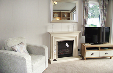 Willerby Vogue - Fire and TV