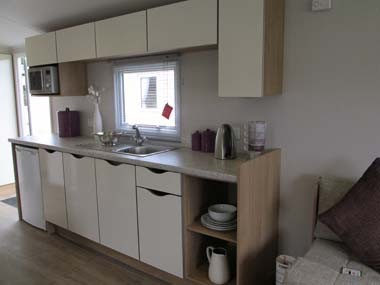 Willerby Vacation Kitchen Main Storage