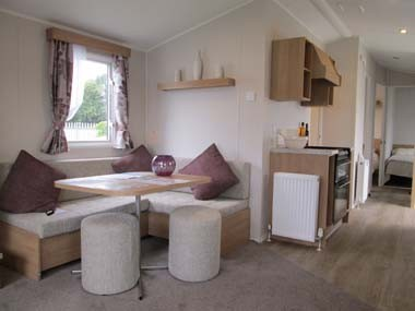 Willerby Vacation Lounge with Kitchen