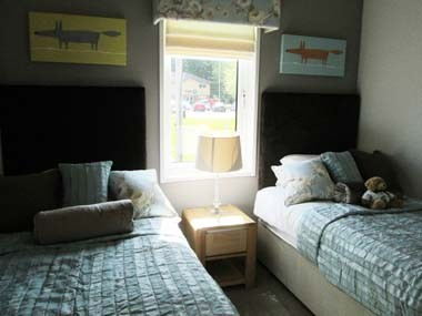 Pathfinder Thorverton Twin Bedroom B