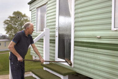 Top tips on cleaning your static caravan or lodge
