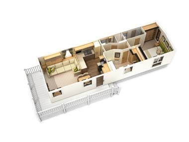 Harewood 3D floor plan