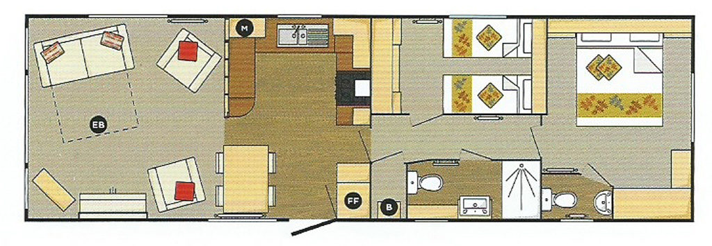 Serenade Floor Plan