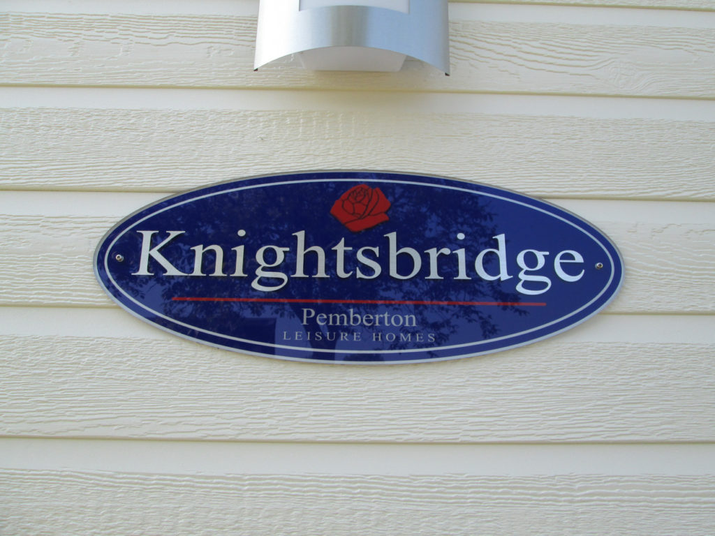 Pemberton Knightsbridge Sign