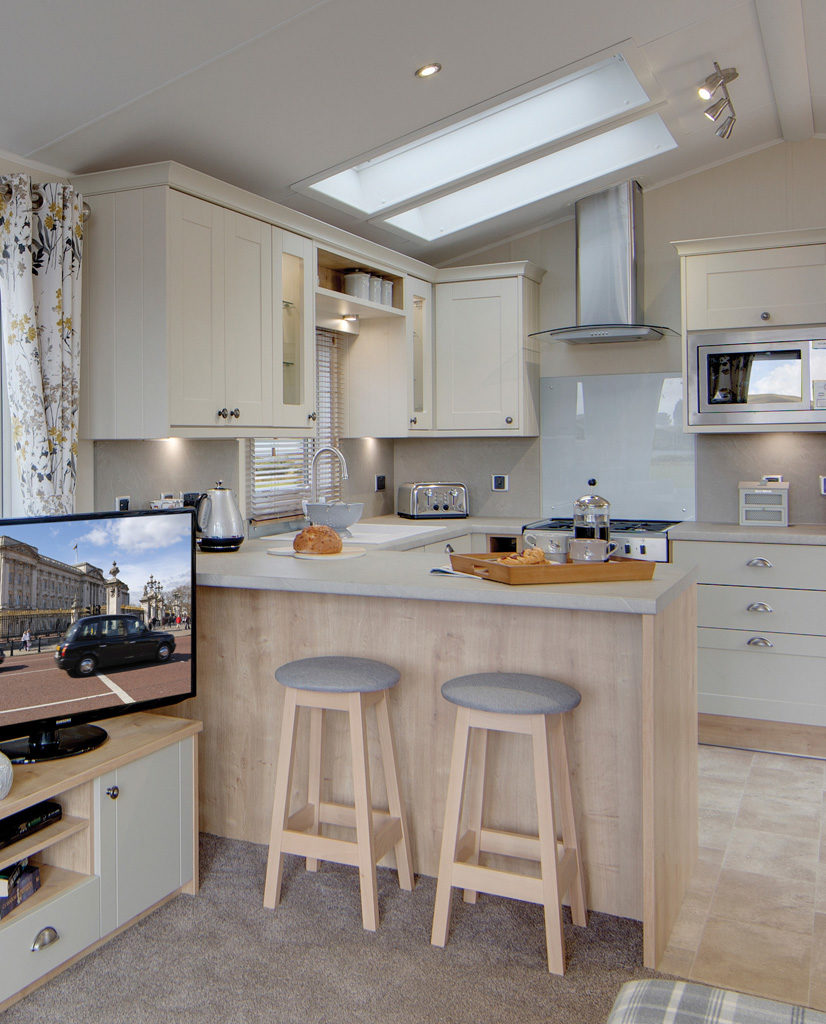 Vogue Lodge - Willerby Holiday Homes Ltd Breakfast Bar