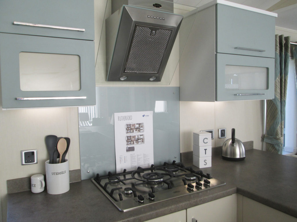 Willerby Rutherford cookers and cupboards