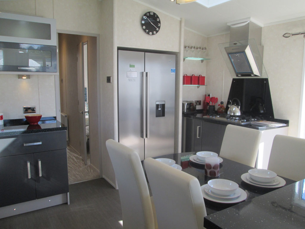 Carnaby Envoy kitchen and fridges