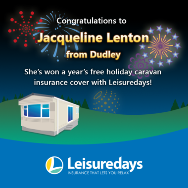 Leisuredays free holiday caravan insurance winner