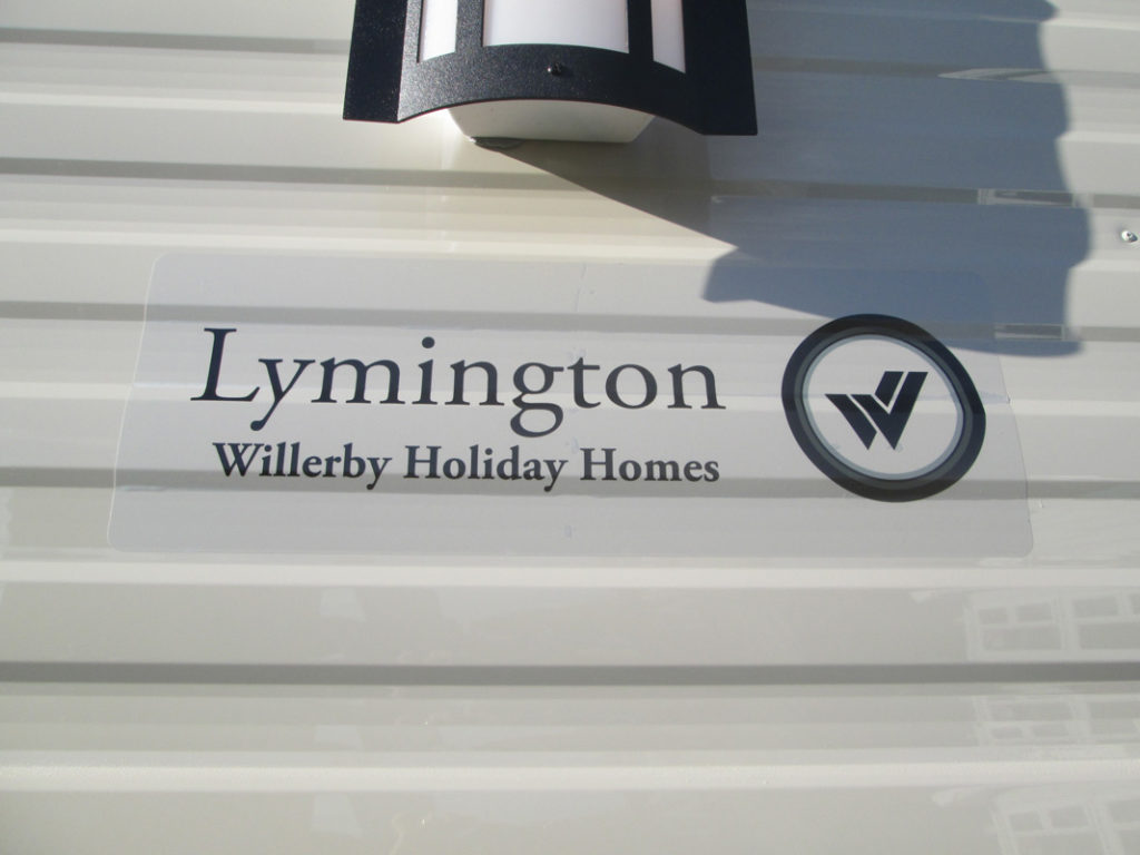 Willerby Lymington Sign