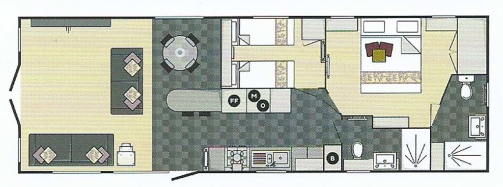 Carnaby Stamford Lodge Floor Plan
