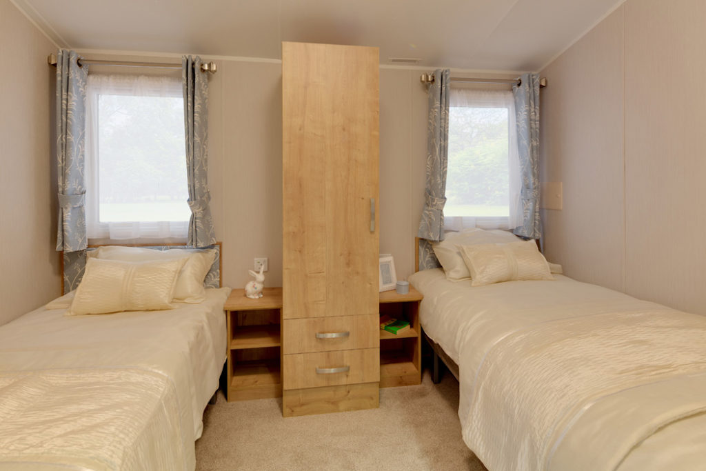 Willerby Richmond -Guest Twin Bedroom