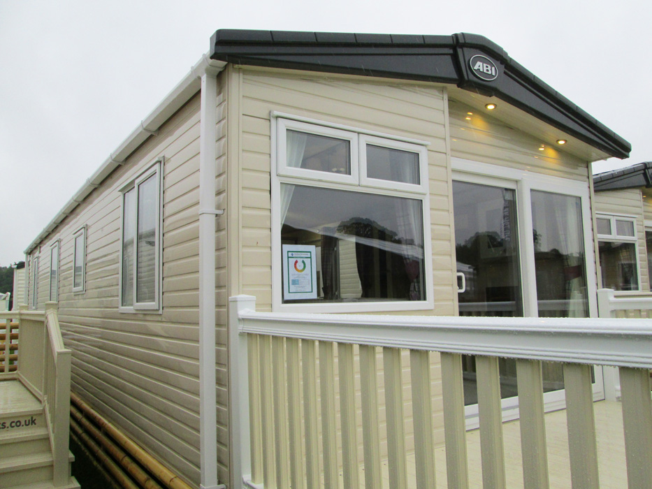 ABI St David static caravan Ext Right Elev