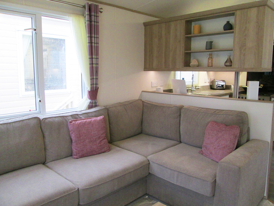 ABI St David static caravan Lounge Corner Seating