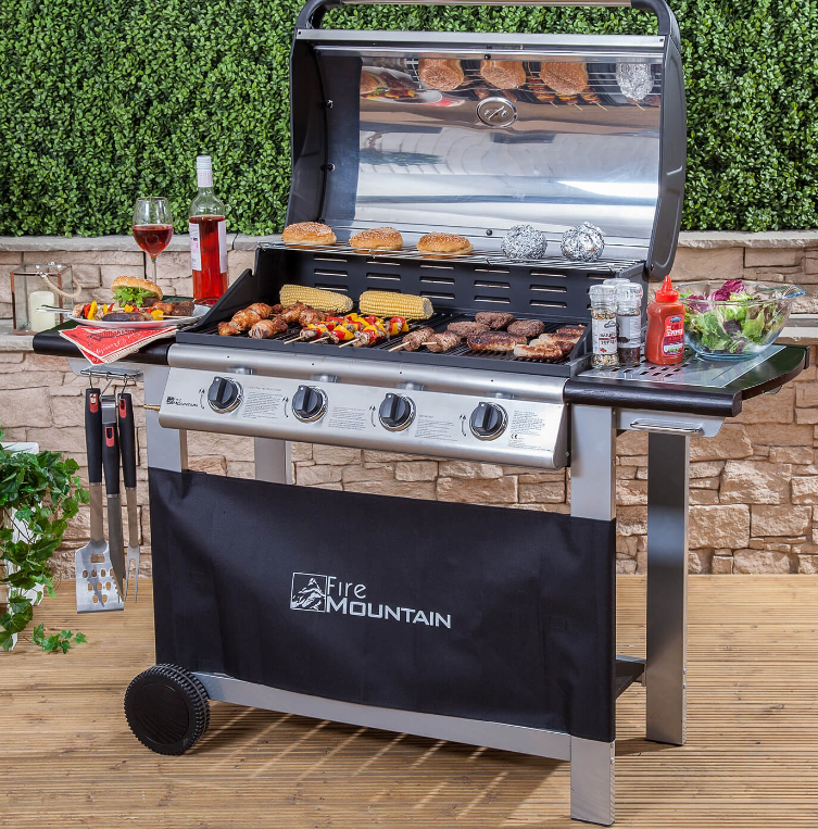 Fire Mountain Everest gas barbecue
