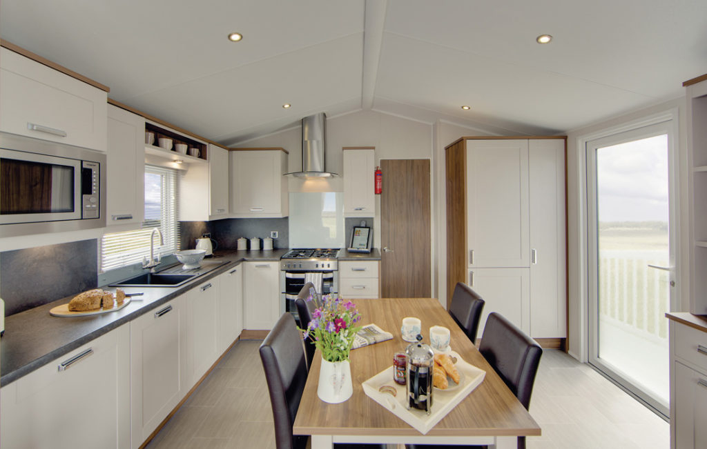 Sheraton - Willerby Holiday Homes kitchen wide