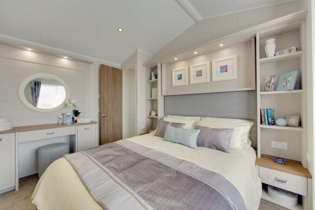 Willerby Holiday Homes Master Bedroom