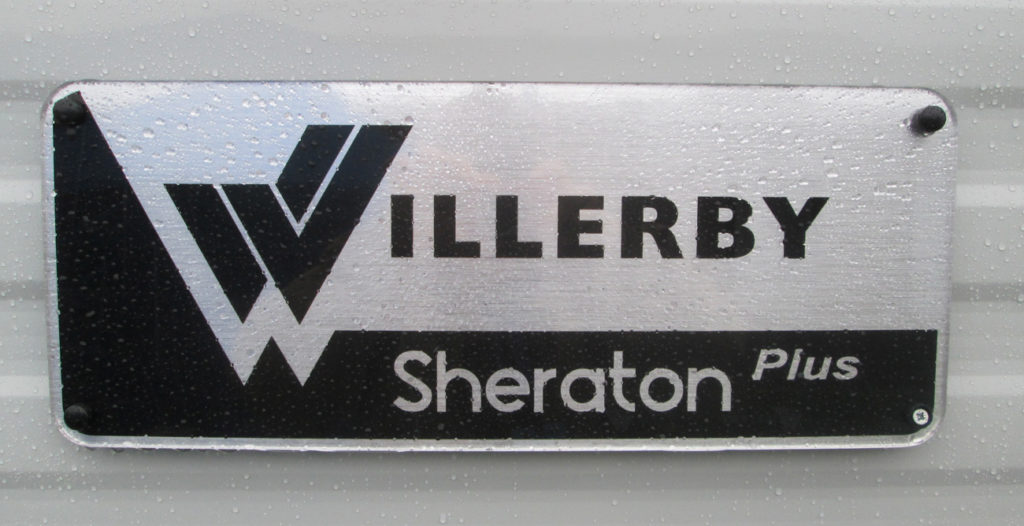 Willerby Sheraton Sign