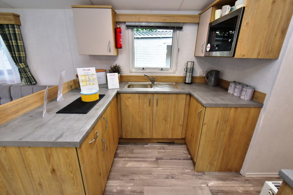 Atlas Mirage Static Caravan Kitchen