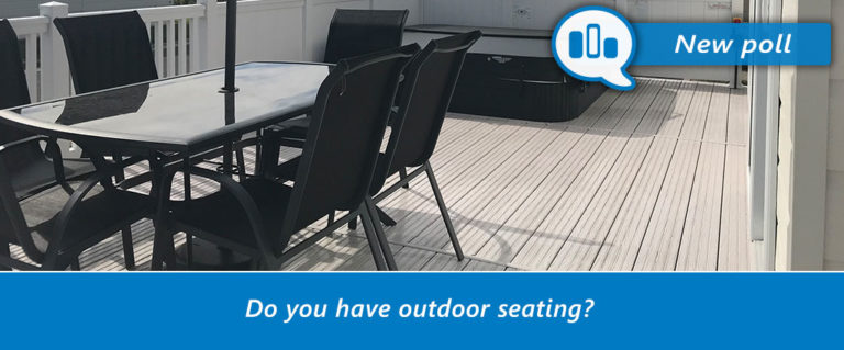 Do you have outdoor seating?