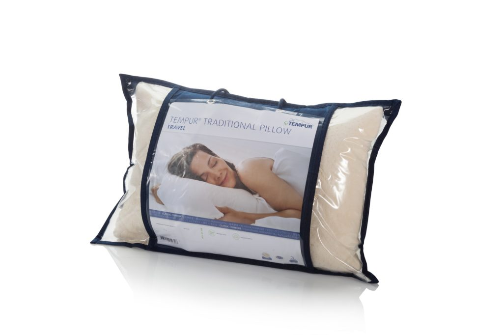 Tempur comfort travel pillow