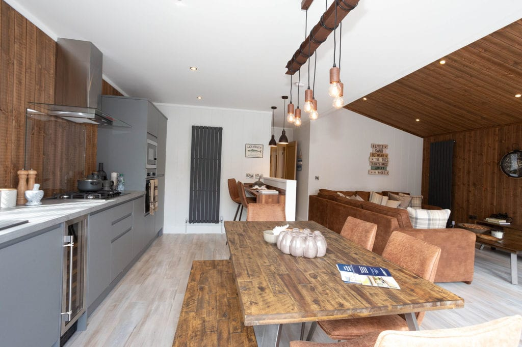 2020 Prestige Samphire lodge interior