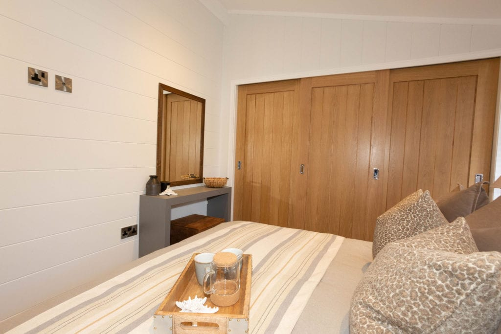 2020 Prestige Samphire lodge master bedroom wardrobes