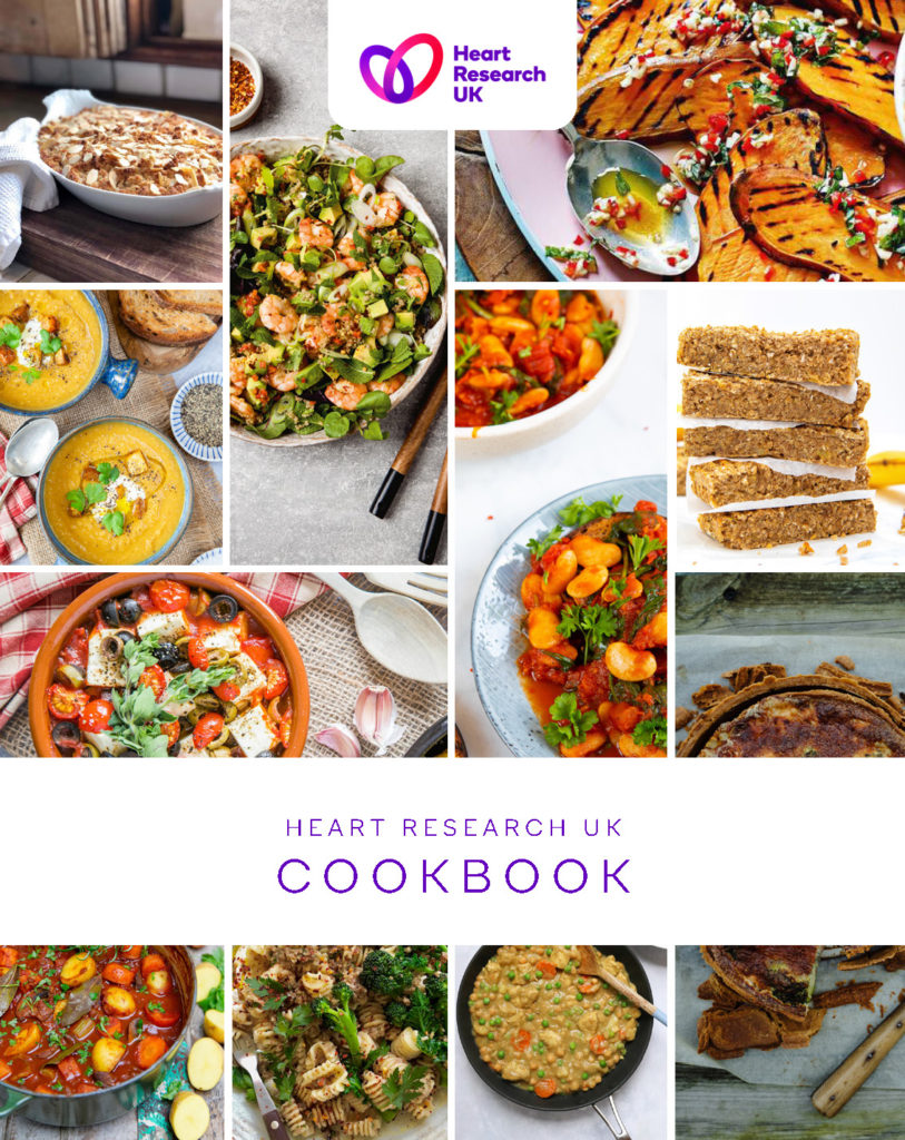 Heart Research UK charity cookbook